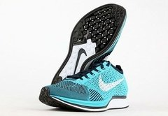 NK Flyknit Racer Turquoise Black na internet