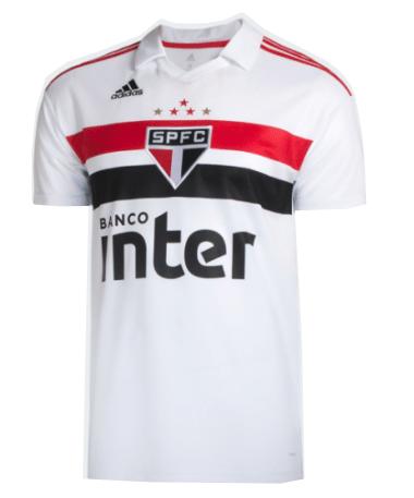 Camisa São Paulo II 18 19 s n° Torcedor Adidas Masculina - Vermelho ... c059d6343bc92
