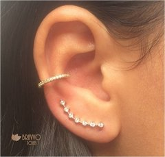 Piercing Falso Slim - Ouro - Bravvo Joias