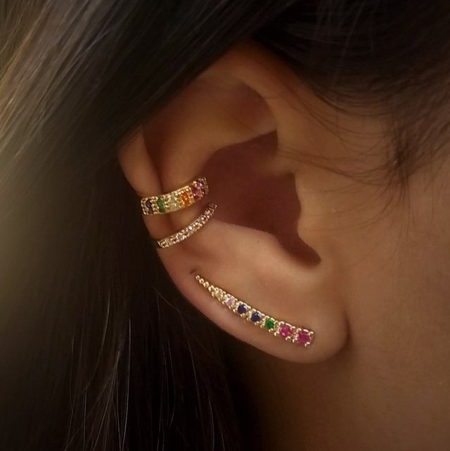 9eb2d03a57d53 Ear Cuff Colors - Ouro