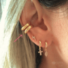 Piercing Tubo - Ouro