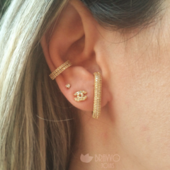 Ear Hook Glam - Ouro