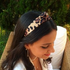 Tiara Turbante Animal Print - comprar online
