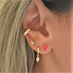 Piercing Tubo - Ouro na internet