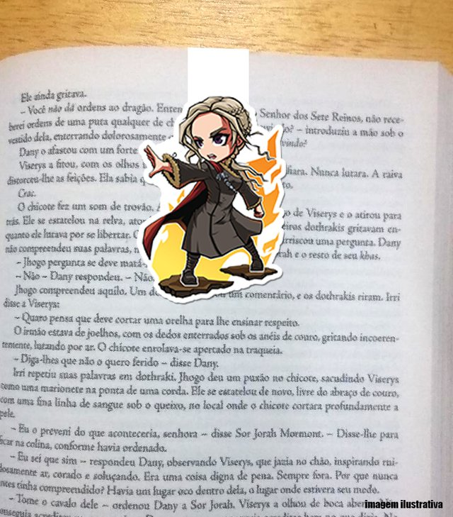Daenerys Game of Thrones - Marcador Magnetico
