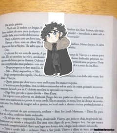 Jon Snow Game of Thrones - Marcador Magnetico