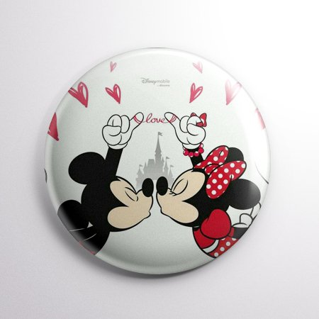 Minnie E Mickey - Boton Button