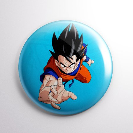 Dragon Ball - Botton Button