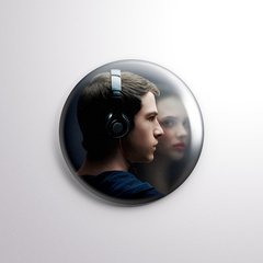 13 Reasons Why - Botton Button