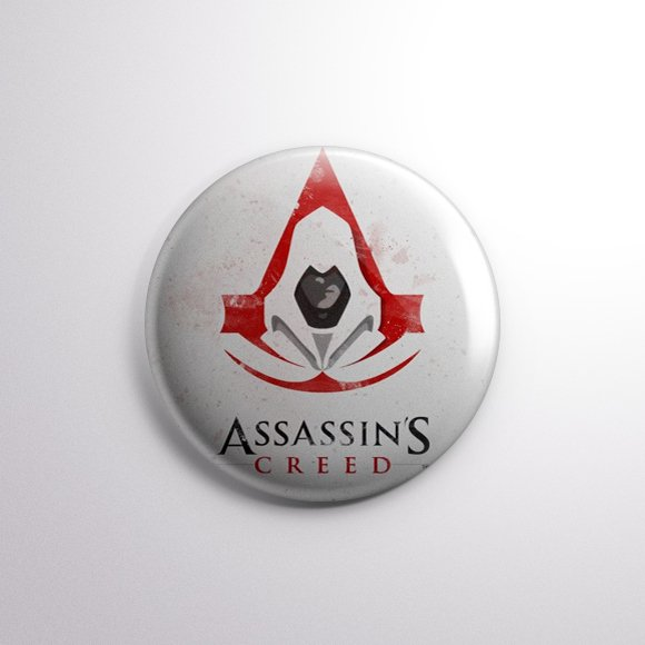 Assassin's Creed -  Botton Button