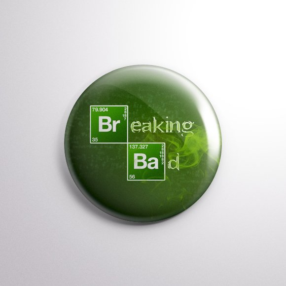 Breaking Bad - Botton Button