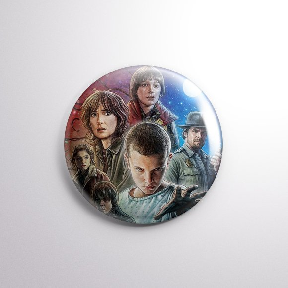 Stranger Things - Botton Button
