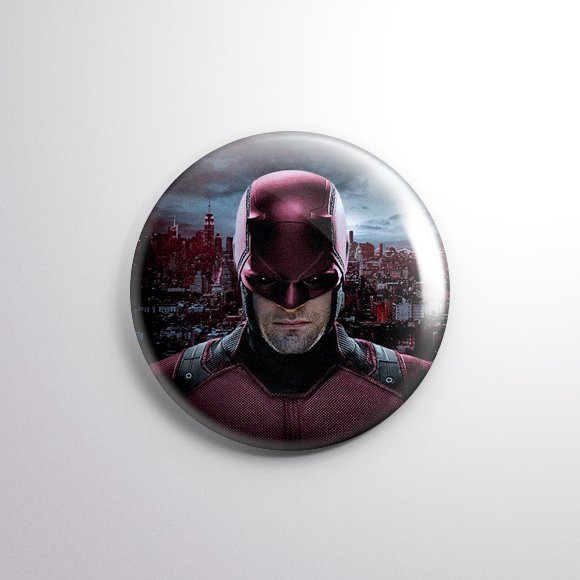 Demolidor - Botton Button