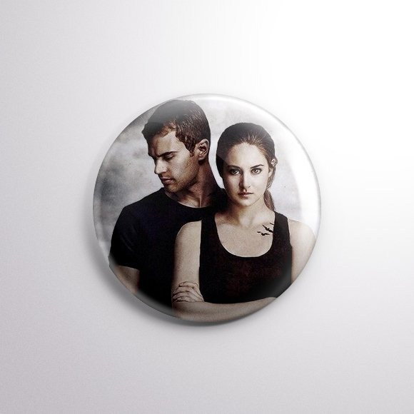 Divergente - Botton Button