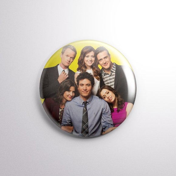 How I Met Your Mother - Botton Button