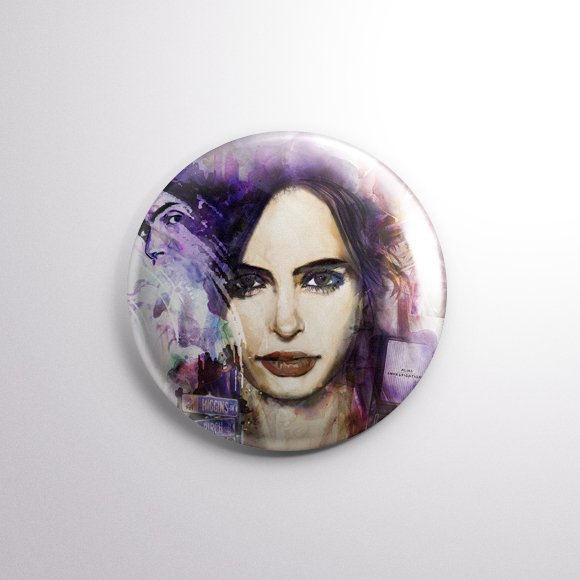 Jessica Jones - Botton Button