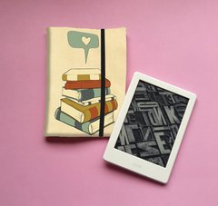Love Books - Capa Leitor Digital