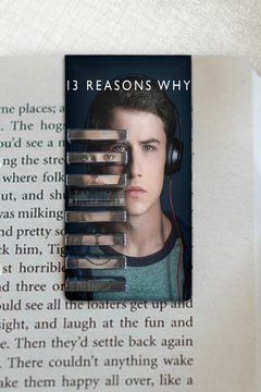 13 Reasons Why - Marcador Magnetico
