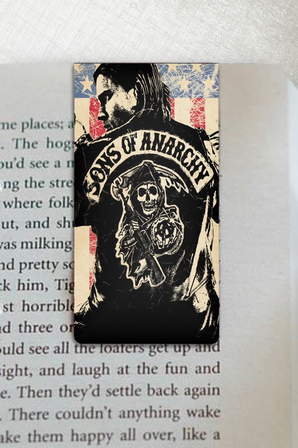 Sons of Anarchy - Marcador Magnetico