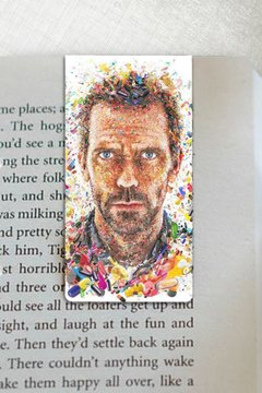 Dr House - Marcador Magnetico