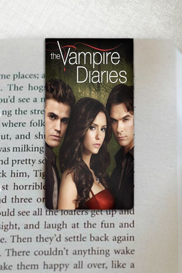 The Vampire Diaries - Marcador Magnetico