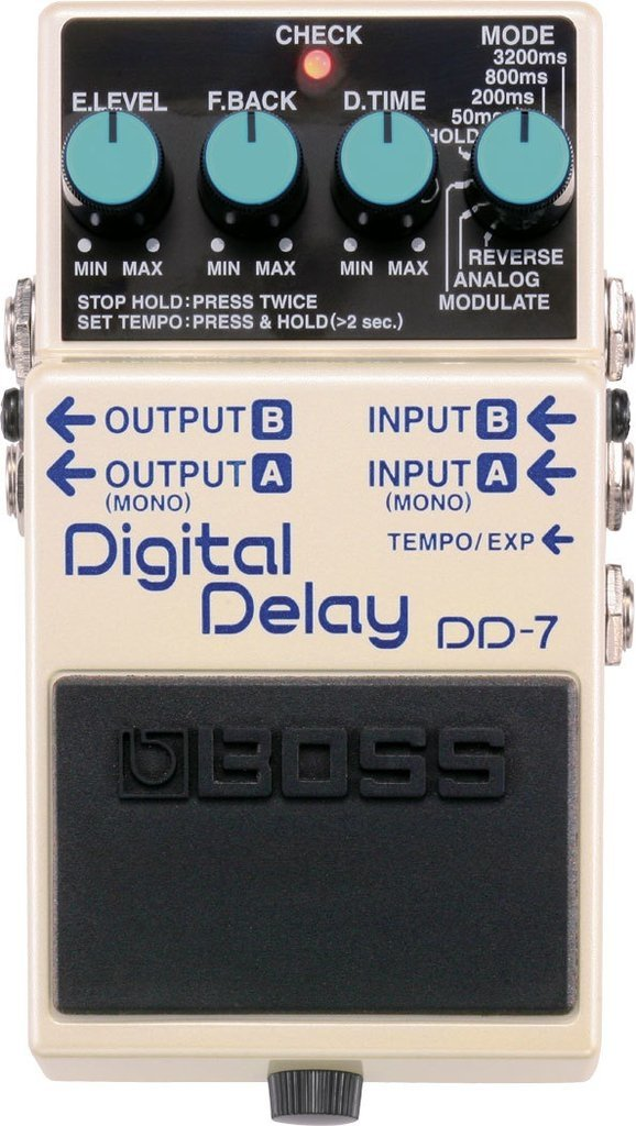 Boss - Pedal de Efecto DD7 - DIGITAL DELAY