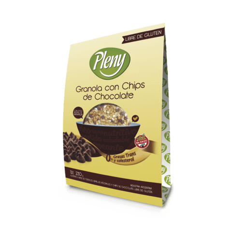 GRANOLA CHIPS DE CHOCOLATE x 230 GR