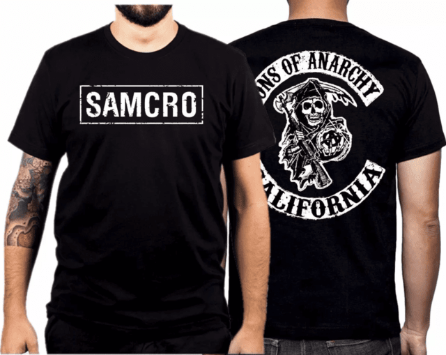 Camiseta Sons of Anarchy Samcro - comprar online