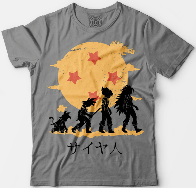 Camiseta Dragon Ball - comprar online