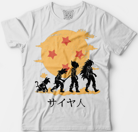 Camiseta Dragon Ball na internet