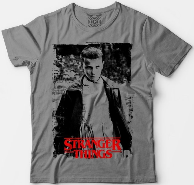 Camiseta Stranger Things Eleven na internet