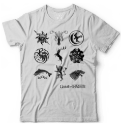 Camiseta Game of thrones Houses - comprar online