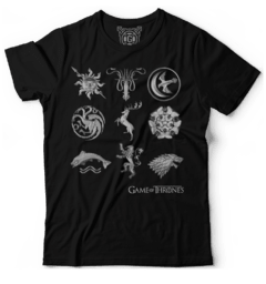 Camiseta Game of thrones Houses