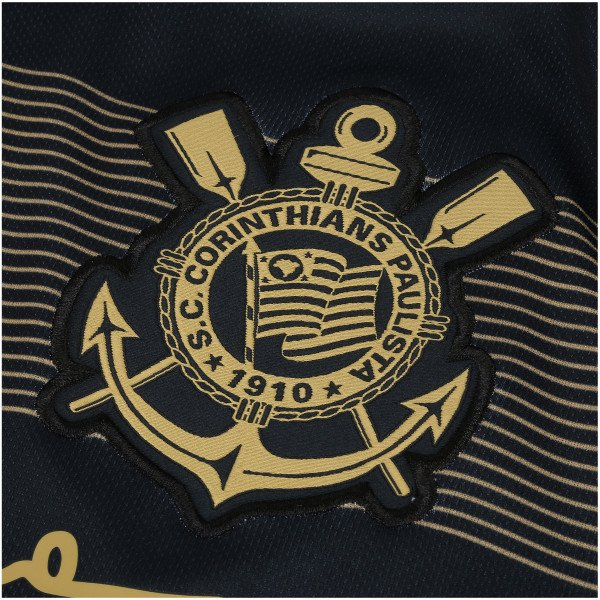 fbf56e9b0c Camisa Corinthians III Senna - Frete e Personalização Grátis