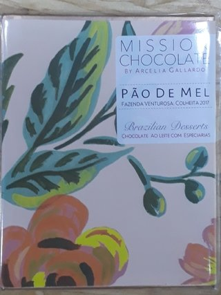 Mission - Chocolate ao Leite Pão de Mel - 60g
