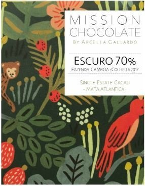 Mission - Chocolate Escuro 70% cacau - 60g