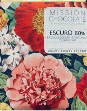 Mission - Chocolate Escuro 80% Cacau - 60g