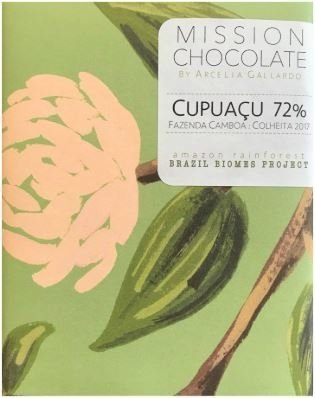 Mission - Chocolate 72% cacau com Cupuaçu - 60g