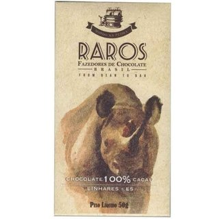 Raros - Chocolate 100% cacau do Espírito Santo
