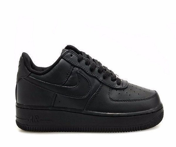 c1915bab1fc ... Nike Air Force One Negra - comprar online ...
