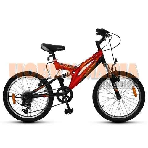 Bicicleta Juvenil Mtb Aurora 20 Dsx 6v Doble Suspension