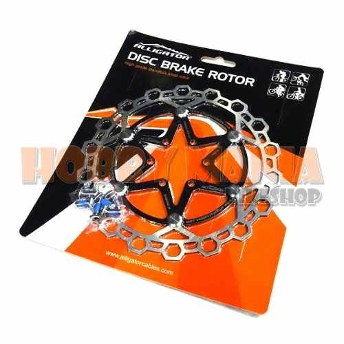 Rotor Disco Freno Alligator Floating Star 160mm 6 Tornillos