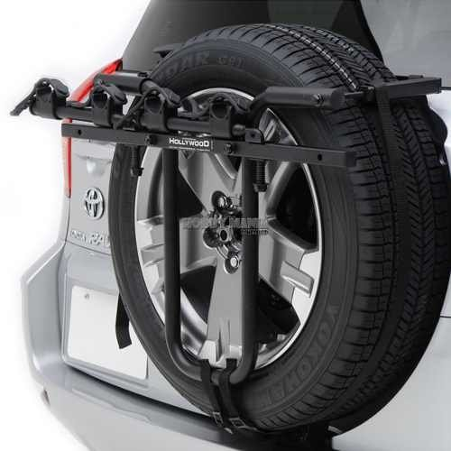 Porta Bicicleta Auto Hollywood Racks Spare Tire Sr1 2 Bicis
