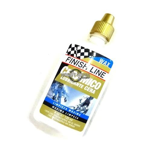 Aceite Lubricante Liquido Finish Line Wax Ceramic Cera 120ml