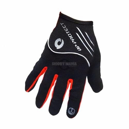 Guantes Bicicleta Bp-protect Gloves Touchscreen Colores Larg