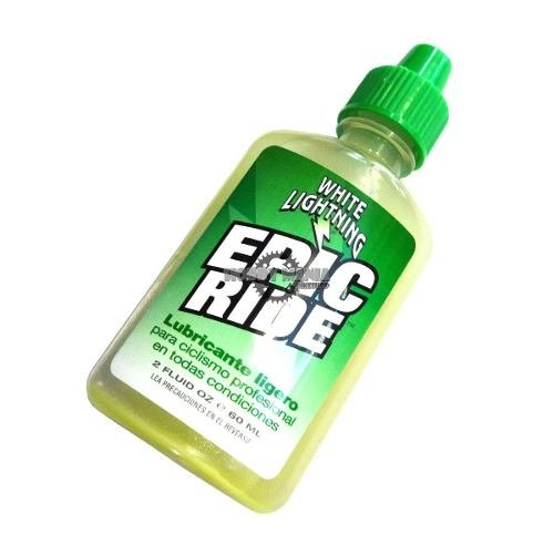 Aceite Lubricante White Lightning Epic Ride 60ml Ligero