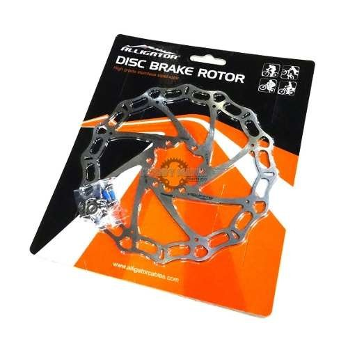 Rotor Disco Freno Alligator Crown 160mm 6t Colores Liviano