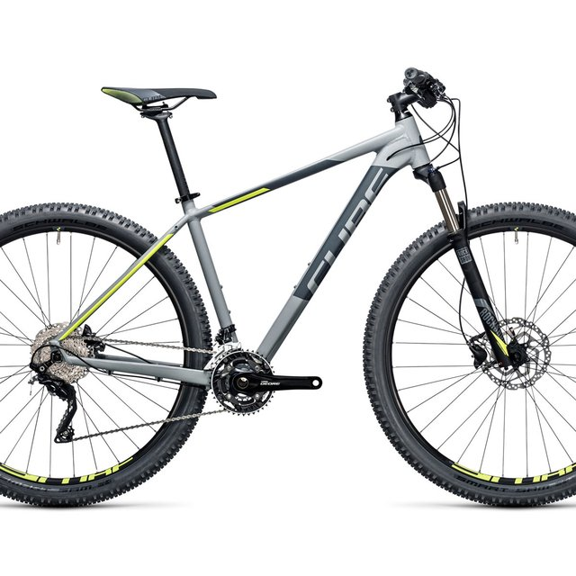 Bicicleta Mtb Cube Attention Sl 29er 30v Shimano Disco Hidraulico