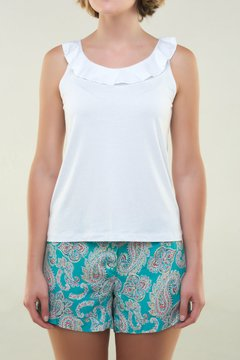 Musculosa Mary Blanca