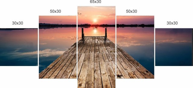 Quadro Decorativo Por Do Sol 07 - comprar online